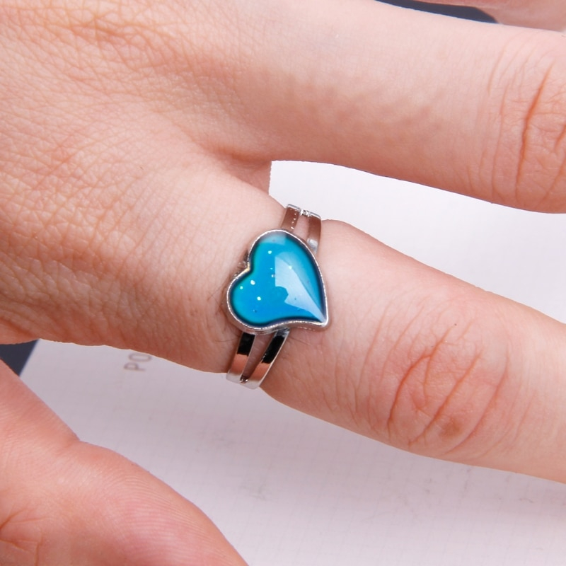 Changing Color By Emotions Ring