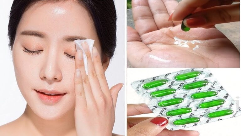 how to use vitamin e on skin