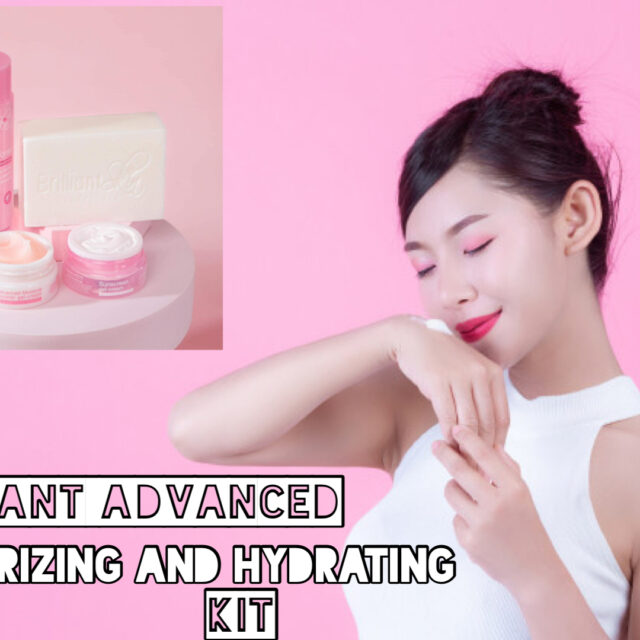 Brilliant advanced moisturizing and hydrating kit