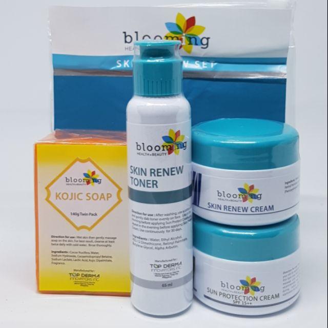 About Blooming Skin Renew Kit